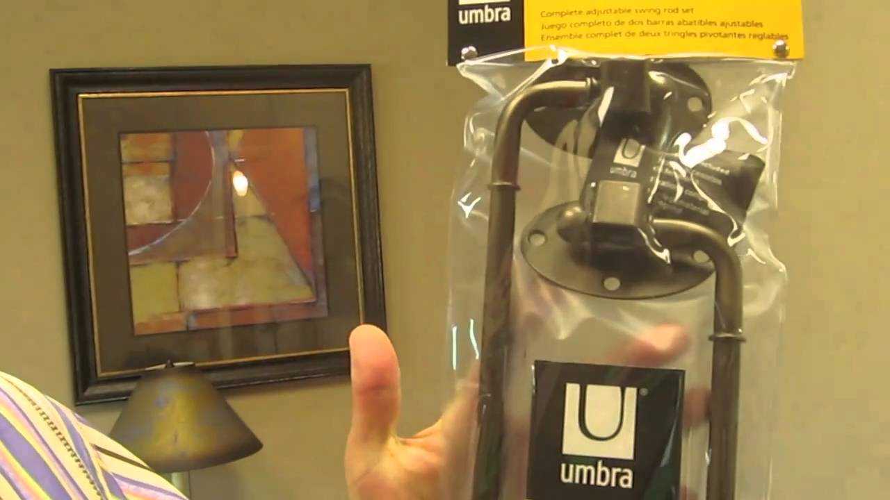 Choosing The Best Swing Arm Curtain Rods From Umbra YouTube