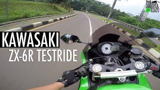 2012 Kawasaki ZX-6R Testride! (bukan review)