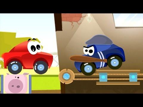 Мультики про Машинки Автобус Симулятор Развивающие Игры для детей
