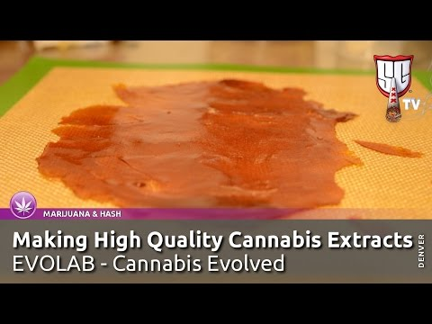 Making High Quality Cannabis Extracts - Cannabis Evolved with EVOLAB - Smokers Guide TV Colorado