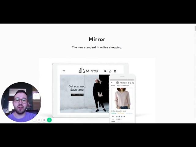UX Design Case Study: Mirror [Clarity Design Studio]