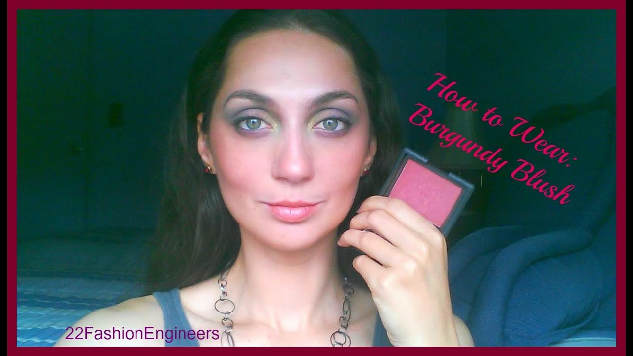 V51 Fall Colors- How to Wear: Burgundy... Blush featuring NARS ...