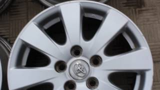 Диски литые Toyota Camry 40 R16 б/у