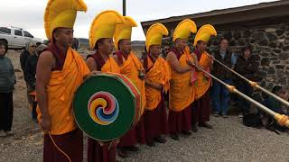 Drepung Loseling Monks | Taos, NM- Healing in A Conflicted World - Bridge Blessing Clip 2