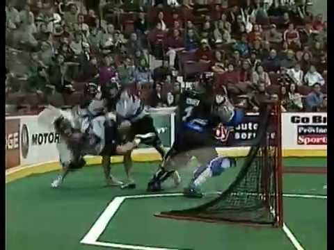 Box Lacrosse Hits - War on the Floor