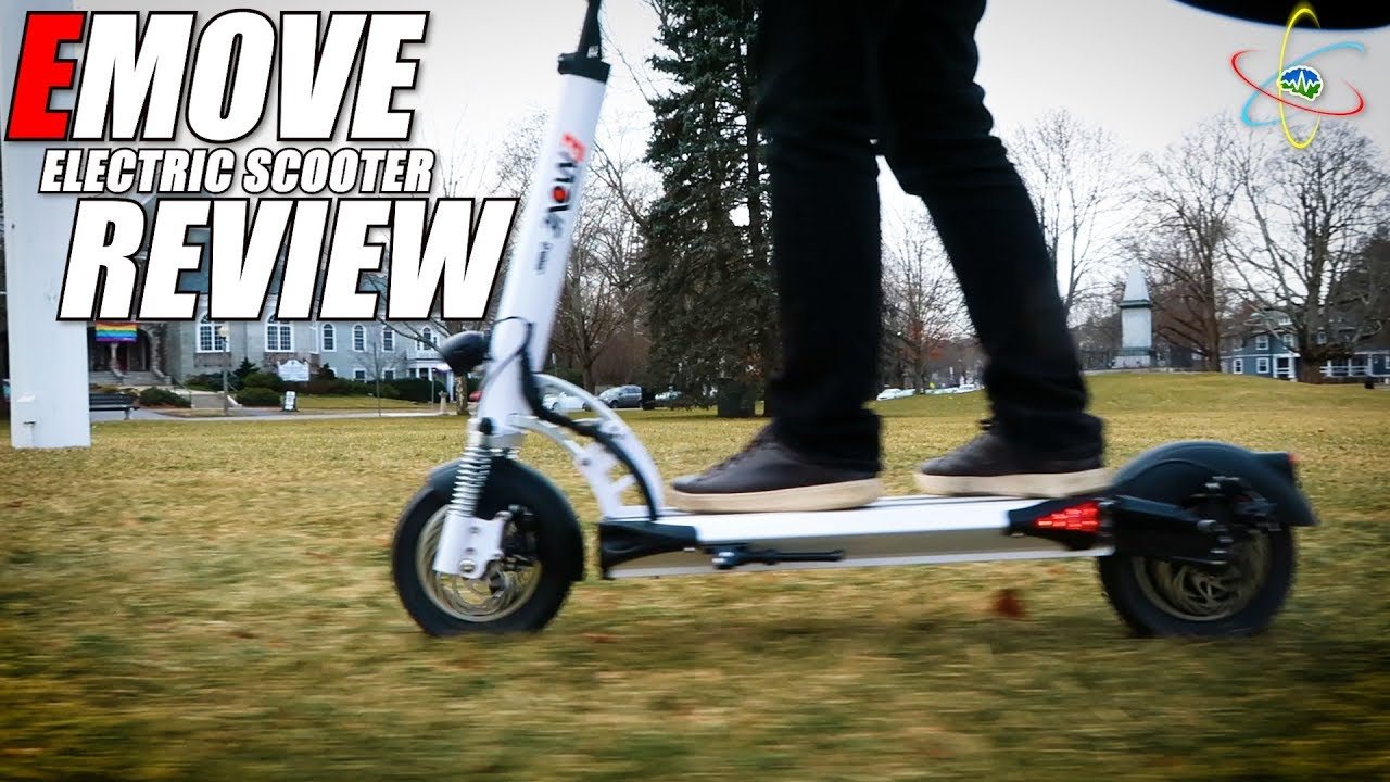 EMOVE Electric Scooter REVIEW