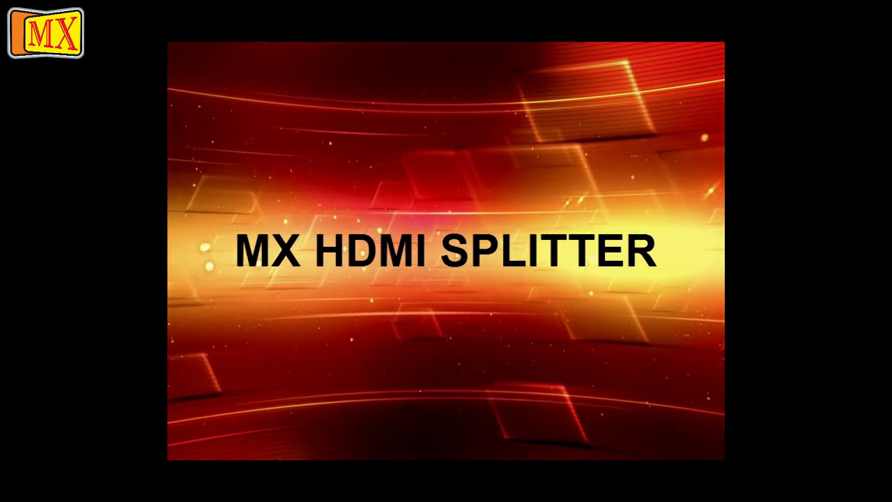 how to use hdmi splitter to split hdmi cable signals [ 1280 x 720 Pixel ]