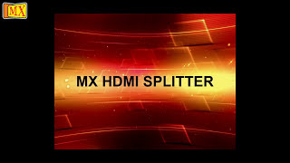 How to use HDMI Splitter to split HDMI Cable Signals
