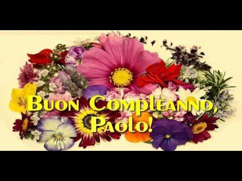 Tanti Auguri di Buon Compleanno Paolo!