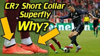 Why CR7 Has a Short Collar on His Custom Superfly