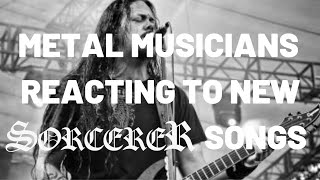 """TOM ENGLUND (EVERGREY) REACTS TO """"CONDEMNED"""" FROM THE NEW SORCERER ALBUM"""
