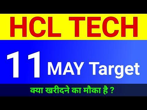 HCL Tech, 11 May Target । Hcl tech share News । Hcl tech share price । Hcl tech share