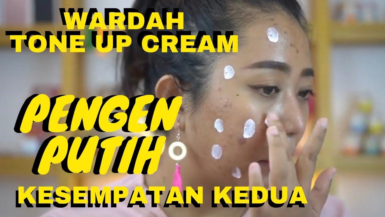 REVIEW WARDAH TONE UP CREAM (di kulit jerawat) - YouTube