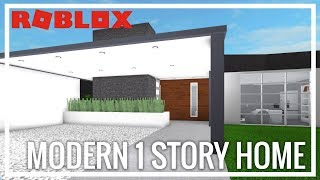 ROBLOX | Welcome To Bloxburg | Modern One Story Home