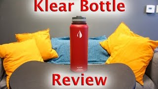 40oz Klear Bottle Review - Best Water Bottles for the Gym