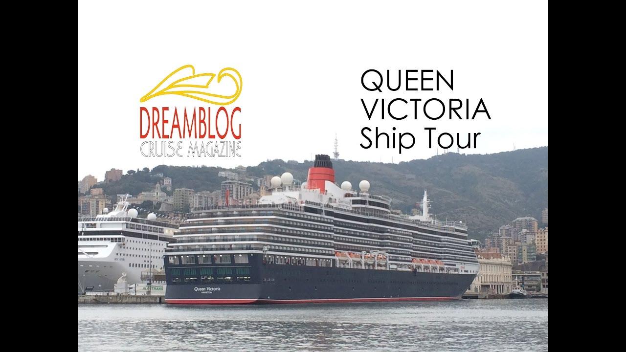 Queen Victoria Ship Tour YouTube - Tracking queen victoria cruise ship