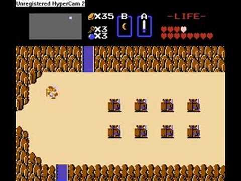 The Legend of Zelda 1, NES, Magic Sword, Power Braclet