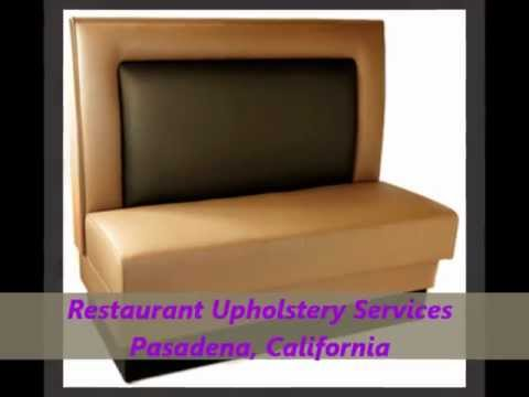 Restaurant Booths Upholstery (323) 474-4748 - Restaurant Booths - Restaurant Chairs.