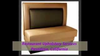 Restaurant Booths Upholstery (323) 474-4748 | Restaurant Booths | Restaurant Chairs.