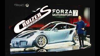 Forza Motorsport 7 E3 reveal