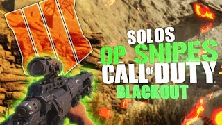 Sickest Sniping Game You Will Ever See  - Call Of Duty: Black ops 4 (Blackout BR)