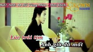[Video Karaoke] Quên anh bằng mọi cách - Phạm Thanh Thảo (DEMO)