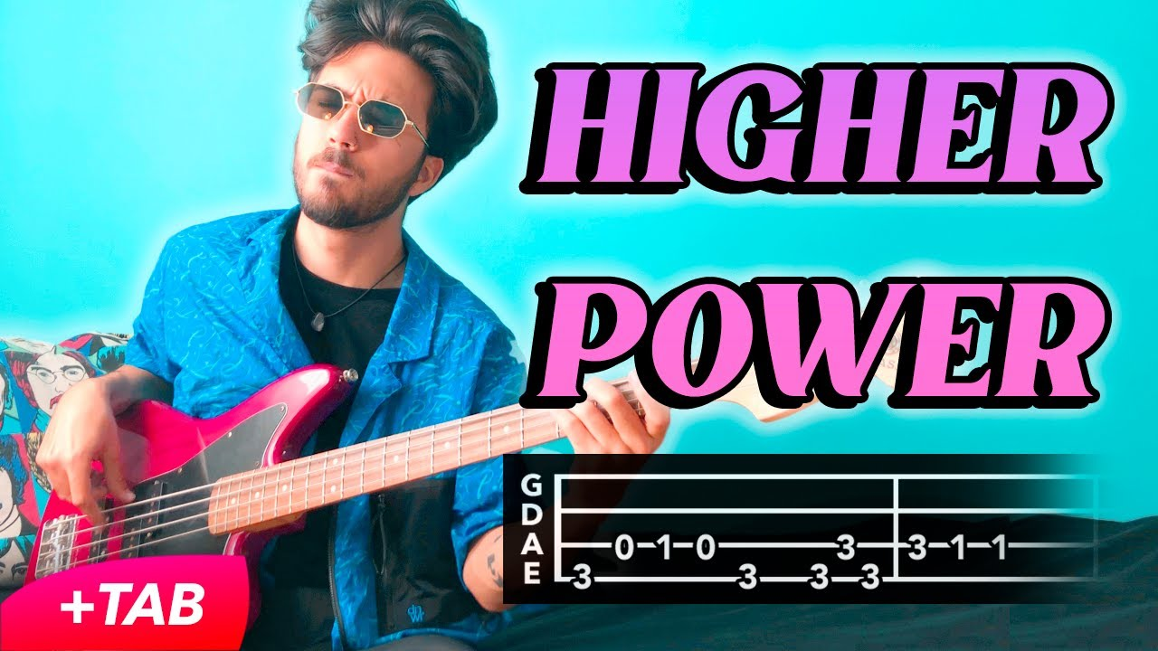 Coldplay - Higher Power (BASS COVER +TAB)