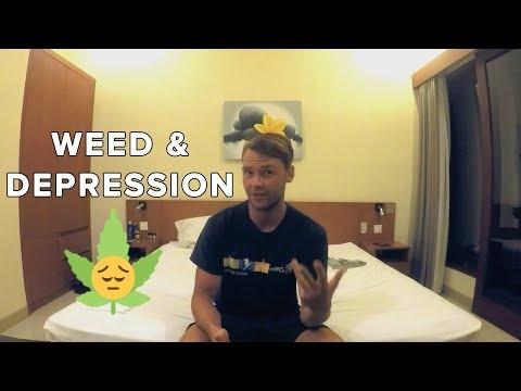Marijuana & Causes Of Depression: Type Of Strain