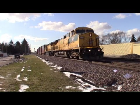 Rare Chicago North Western, Katy, And More Epic Trains! ( Trains of Northern Illinois Part 2 )