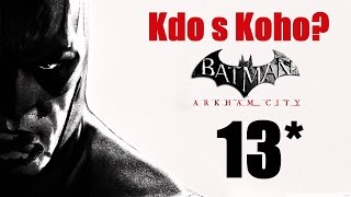 CZ tit. | Let's Play | Batman: Arkham City | #13 | NG+ | 1080p