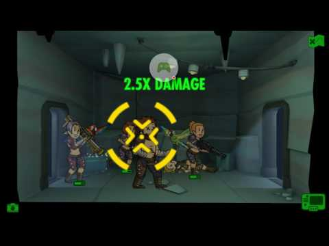 Fallout Shelter Daily Quest : Spy On Raiders!