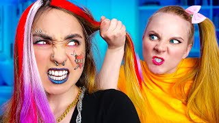 TRUE SISTER'S STRUGGLES - Funny sibling situations by La La Life (Music Video)