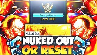 RIP LEVEL 1000 IN BLACK OPS 3...