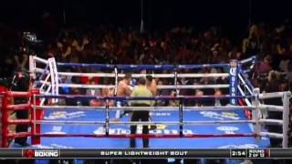 Lucas Matthysse vs Roberto Ortiz One Punch Knock Out