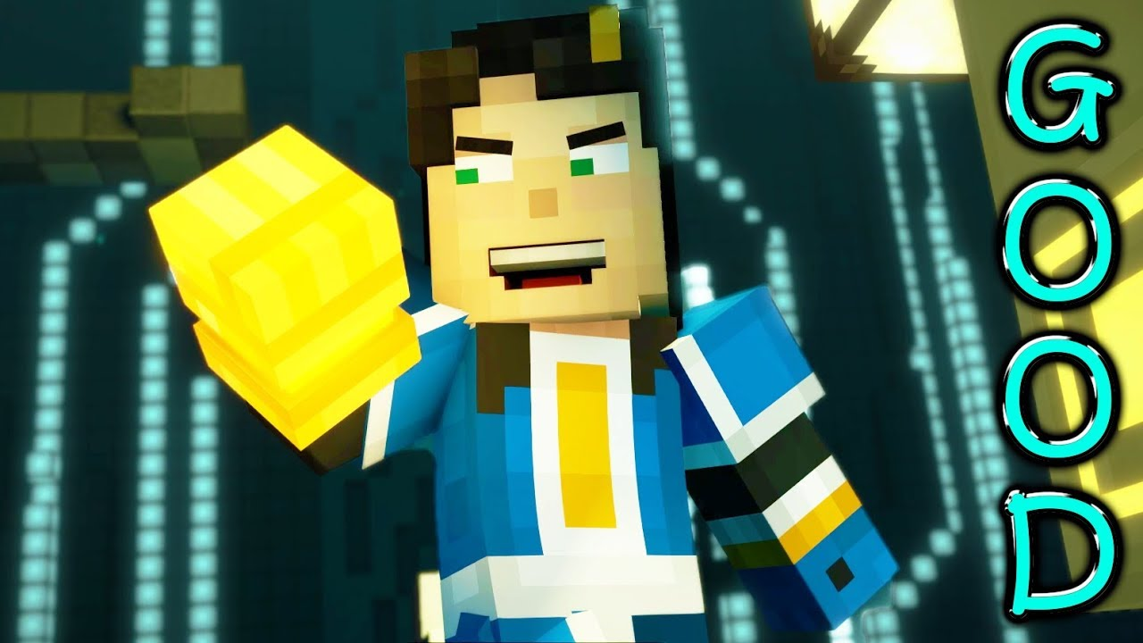 Minecraft Story Mode Season 2 Episode 5 Good Choices Jesse