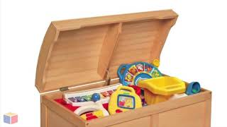 Top Toy Box Chest - Natural Color   Toyboxcity.com