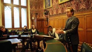 Ipswich Academy Students meet Ben Gummer MP at Houses of Parliament
