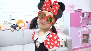 Boram fez uma roupa especial para e óculos de sol mágicos