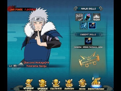 Playing around Tobirama breakthrough and some ranked battle gameplay