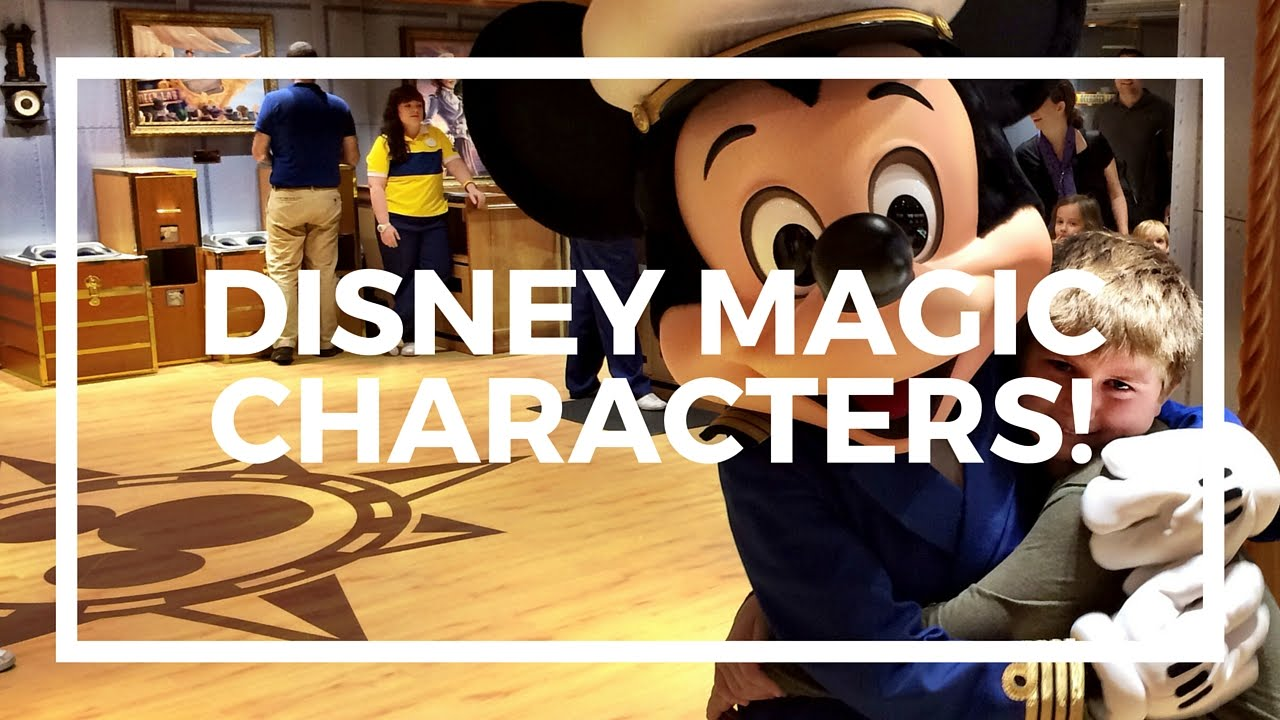 Disney Cruise Character Meet And Greet On The Disney Magic Cruise Ship