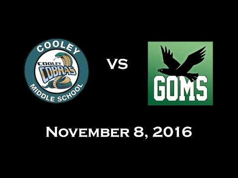 Cooley Middle School Basketball 7th Grade - Cobras VS. Falcons