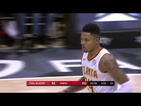3rd Quarter, One Box Video: Atlanta Hawks vs. Portland Trail Blazers