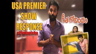 Geetha Govindam USA Premier Show Response