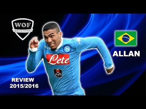 ALLAN MARQUES LOUREIRO | Napoli | Goals, Skills, Assists | 2015/2016 (HD)