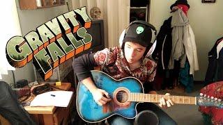 ¿Cómo tocar Gravity Falls en guitarra? |Tutorial ERX| Parte 1