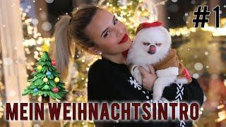 VLOGMAS #1: Mein Weihnachtsintro (omg) I love it 😍🌲 | Jasmin Azizam