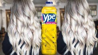 Coloque detergente em seu cabelo e veja o milagre – Cabelos 100% Limpos e Espelhados
