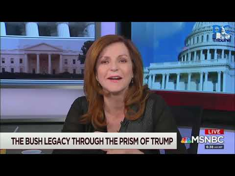 Maureen Dowd Tells MSNBC GHW Bush Once Threw A Shoe At His TV When Trump Was On