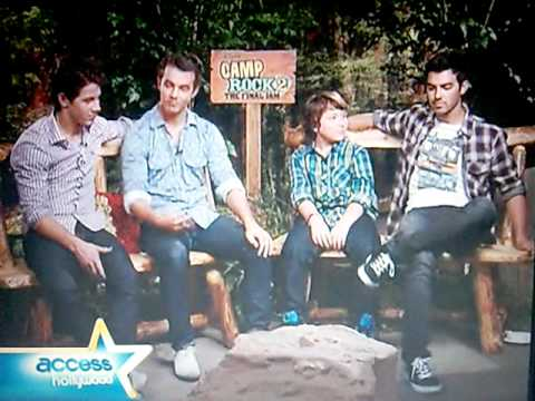 """Access Hollywood Extended: The Jonas Brothers Talk """"Camp Rock 2: The Final Jam"""""""