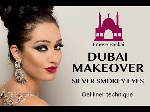 No.2 DUBAI MAKEOVER   1001 NIGHT MAKEUP COLLECTION   ARABIC SMOKEY EYES by Emese Backai